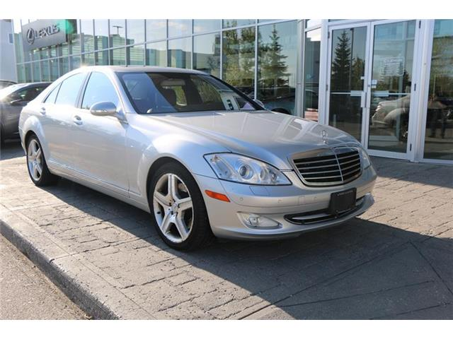 2008 Mercedes-Benz S450 4MATIC Sedan (Stk: 190715A) in Calgary - Image 1 of 13