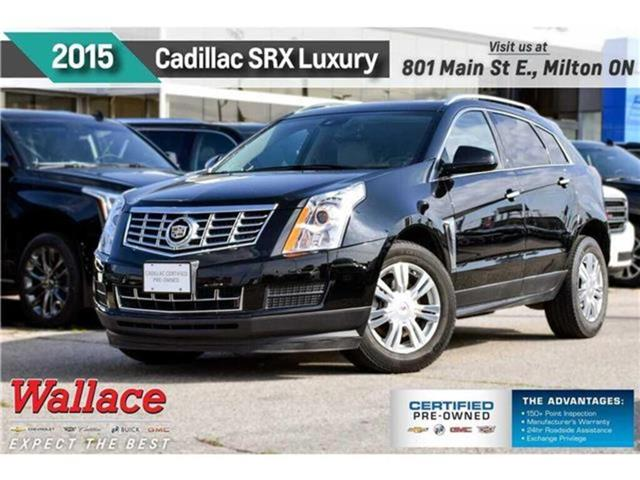 2015 Cadillac SRX Luxury/AWD/SUNRF/HTD STS/NAV/BOSE/BLIND ZNE/CAMRA (Stk: PL5245) in Milton - Image 1 of 30