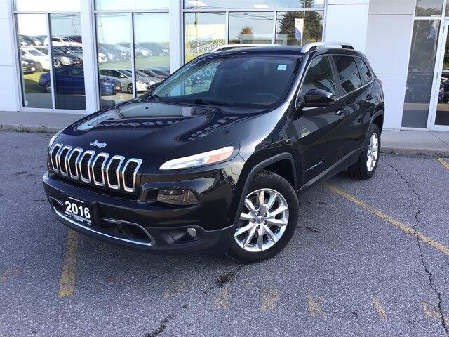 2016 Jeep Cherokee Limited (Stk: H12148A) in Peterborough - Image 1 of 19