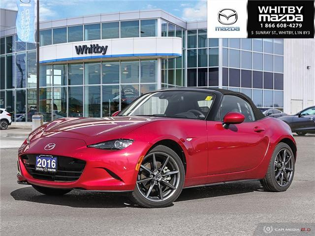 2016 Mazda MX-5 GT (Stk: 190401A) in Whitby - Image 1 of 27