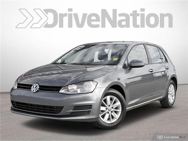 2017 Volkswagen Golf 1.8 TSI Trendline 3VW217AU4HM066881 WE457 in Edmonton