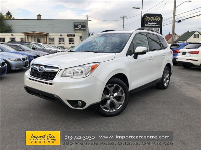 2015 Subaru Forester 2.5i Limited Package (Stk: 523931) in Ottawa - Image 1 of 26