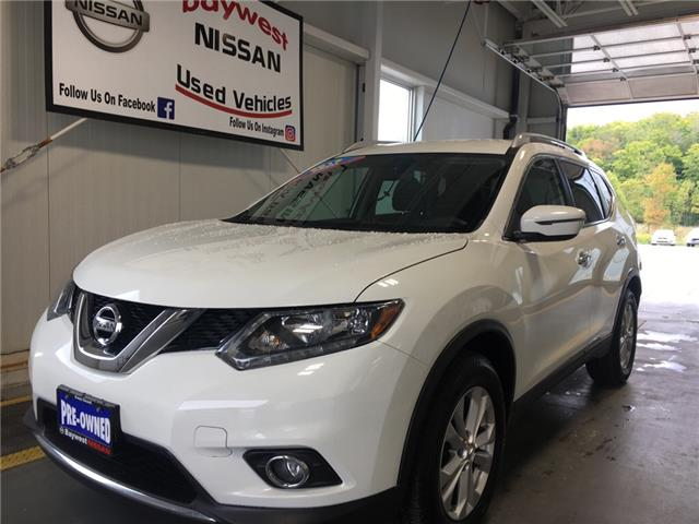 2016 Nissan Rogue SV (Stk: 19157A) in Owen Sound - Image 1 of 11