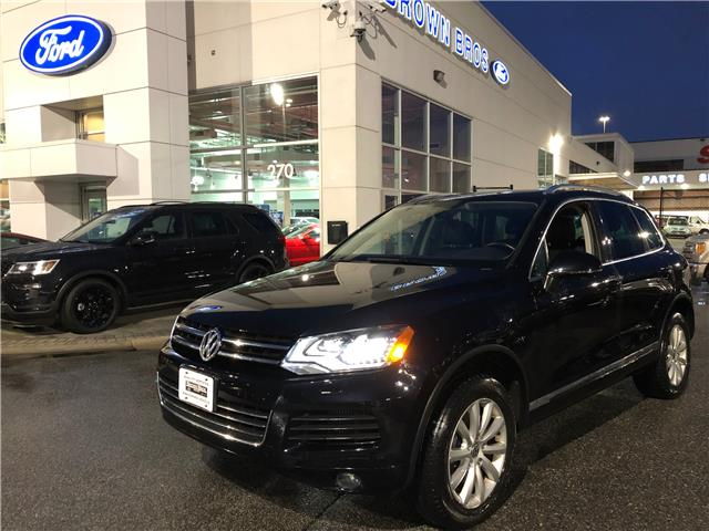 2014 Volkswagen Touareg 3.6L Highline WVGEP9BP3ED014325 1961173A in Vancouver