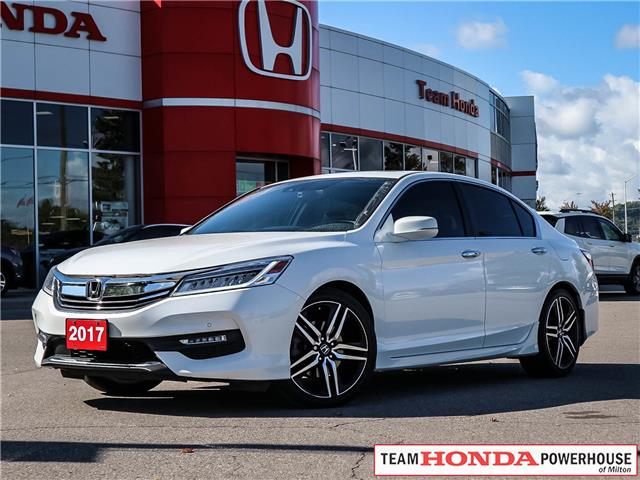 2017 Honda Accord Touring (Stk: 282W) in Milton - Image 1 of 28