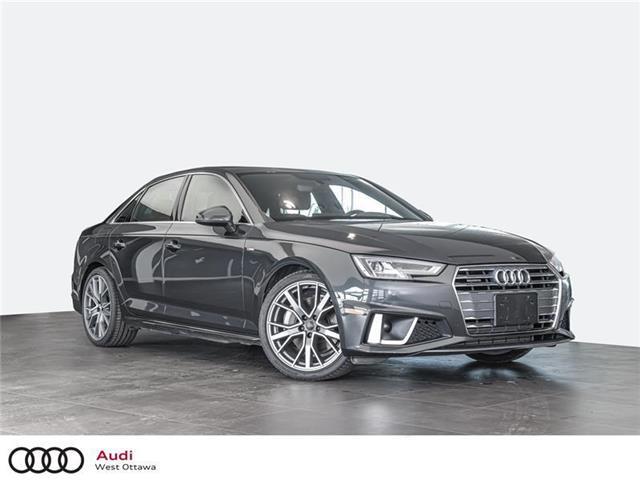 2019 Audi A4 45 Progressiv (Stk: 91601) in Nepean - Image 1 of 19