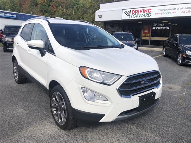 2018 Ford EcoSport Titanium (Stk: DF1666) in Sudbury - Image 1 of 19