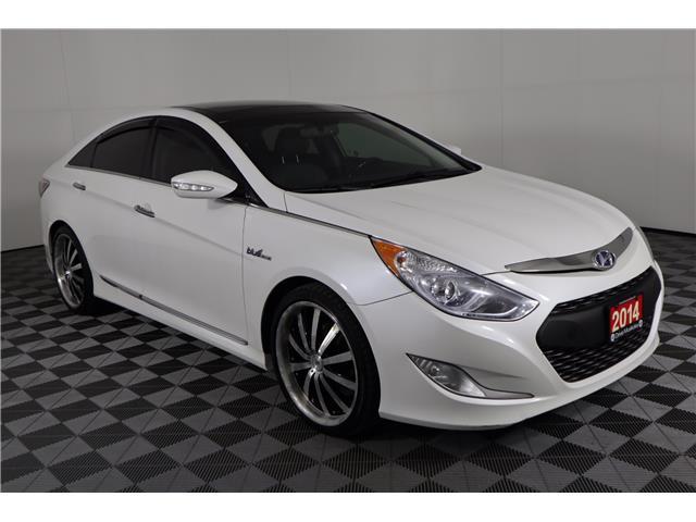 2014 Hyundai Sonata Hybrid Limited KMHEC4A4XEA111576 219590A in Huntsville