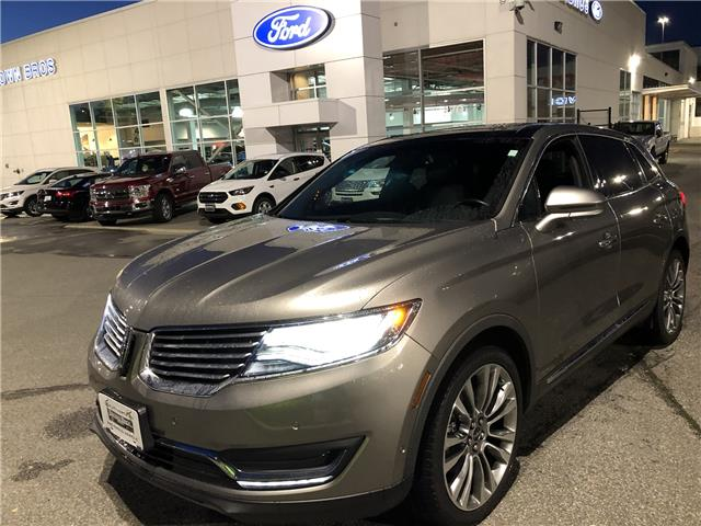 2016 Lincoln MKX Reserve 2LMPJ8LP0GBL28188 OP19313 in Vancouver