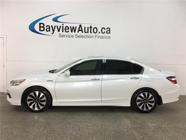 2017 Honda Accord Hybrid Touring (Stk: 35678W) in Belleville - Image 1 of 29