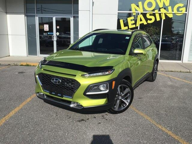 2020 Hyundai Kona 1.6T Ultimate w/Lime Colour Pack (Stk: H12299) in Peterborough - Image 1 of 20