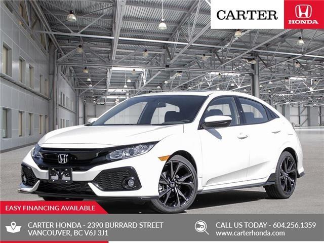 New 2019 Honda Civic Sport  - Vancouver - Carter Honda