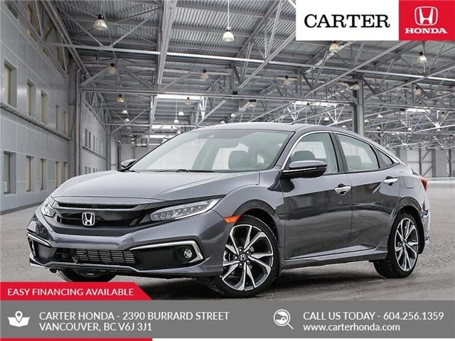 2019 Honda Civic Touring (Stk: 3K39140) in Vancouver - Image 1 of 23