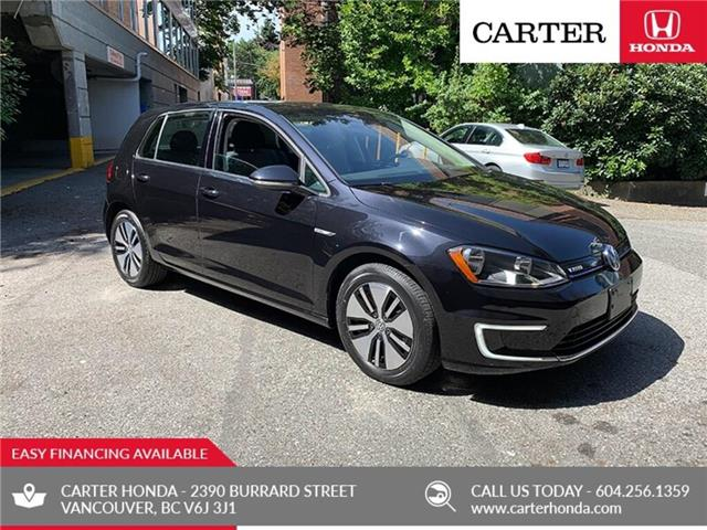2016 Volkswagen E-GOLF SE 4dr HB SE + ELECTRIC + CARTER HONDA CLEAROUT! (Stk: B31060) in Vancouver - Image 1 of 21