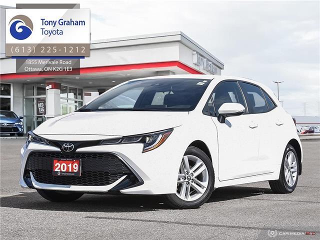 2019 Toyota Corolla Hatchback Base (Stk: U9182) in Ottawa - Image 1 of 29
