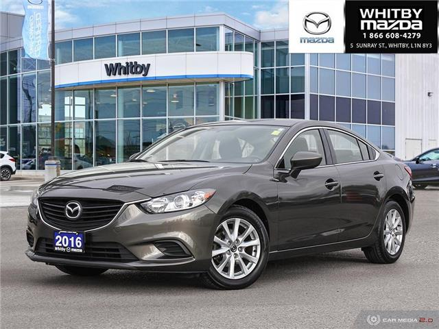 2016 Mazda MAZDA6 GS (Stk: P17482) in Whitby - Image 1 of 27