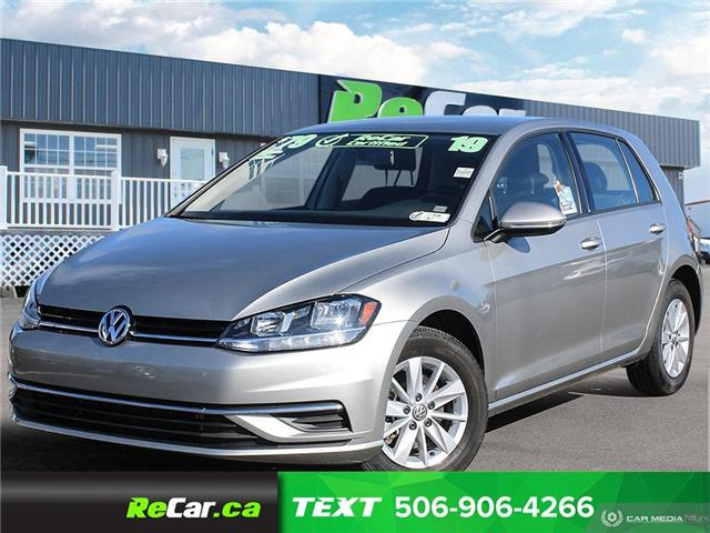 2019 Volkswagen Golf 1.4 TSI Comfortline 3VWG57AU4KM023434 191152A in Saint John