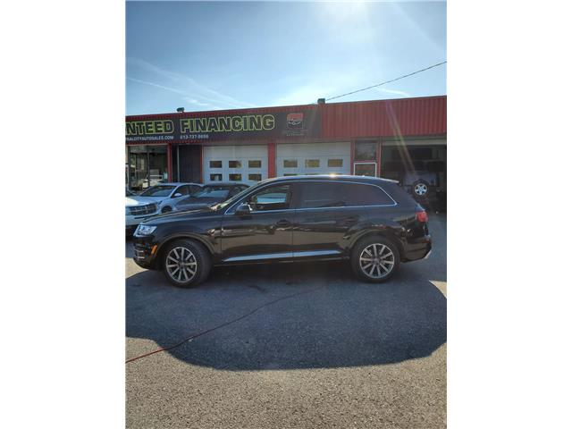 2018 Audi Q7 3.0T Progressiv (Stk: 11111) in Ottawa - Image 1 of 11