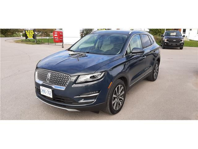 2019 Lincoln MKC Reserve 5LMCJ3D90KUL39852 P0489 in Bobcaygeon