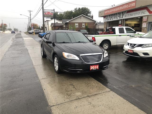 2012 Chrysler 200 LX (Stk: ) in Garson - Image 1 of 8