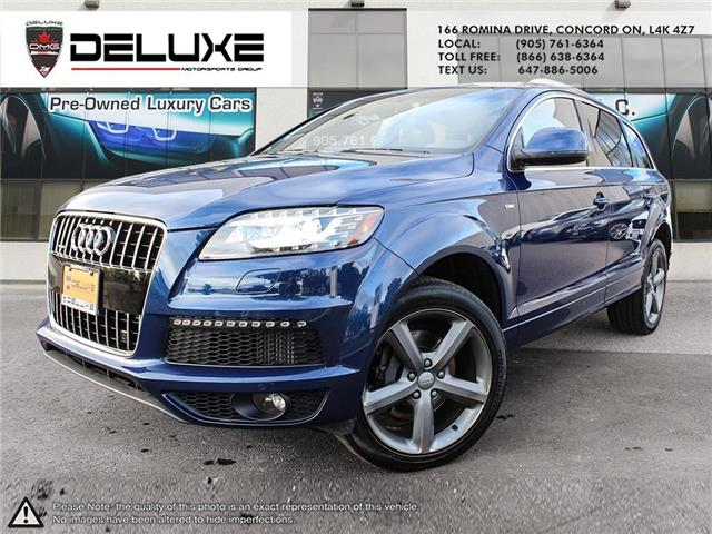 2015 Audi Q7 3.0 TDI Vorsprung Edition WA1WMCFE7FD026366 D0657 in Concord