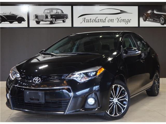 2014 Toyota Corolla S (Stk: C35180A) in Thornhill - Image 1 of 29