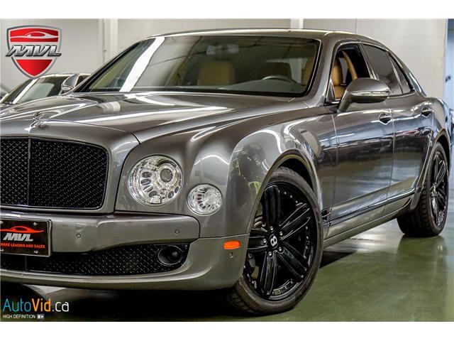 2011 Bentley Mulsanne  SCBBB7ZH1BC015325  in Oakville