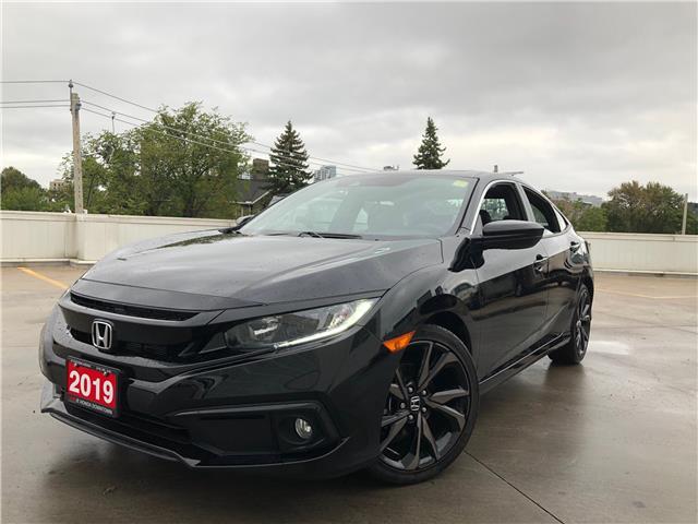 2019 Honda Civic Sport (Stk: A181554A) in Toronto - Image 1 of 27