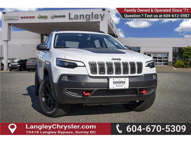 2019 Jeep Cherokee Trailhawk (Stk: K452987) in Surrey - Image 1 of 24