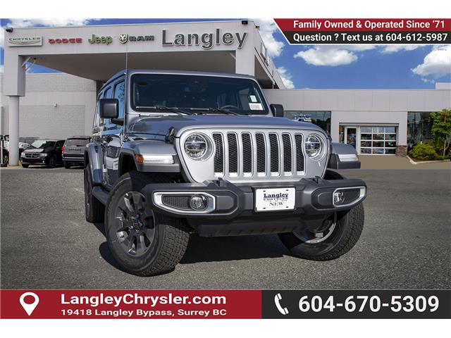 2019 Jeep Wrangler Unlimited Sahara (Stk: K654034) in Surrey - Image 1 of 24