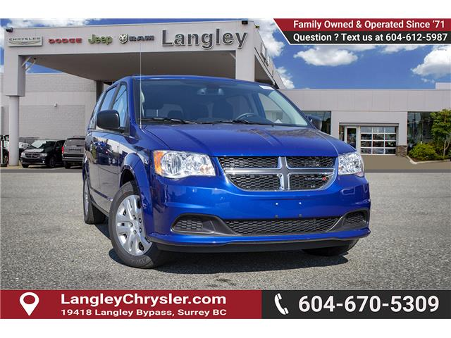 2019 Dodge Grand Caravan CVP/SXT (Stk: K759780) in Surrey - Image 1 of 20