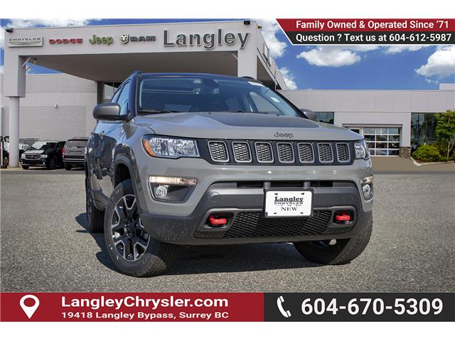 2019 Jeep Compass Trailhawk (Stk: K825710) in Surrey - Image 1 of 22