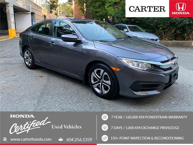2016 Honda Civic LX (Stk: 1K77901) in Vancouver - Image 1 of 21