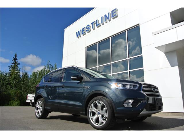 2019 Ford Escape Titanium (Stk: 4146) in Vanderhoof - Image 1 of 20