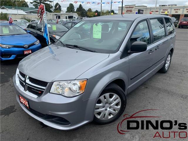2015 Dodge Grand Caravan SE/SXT (Stk: 605170) in Orleans - Image 1 of 23