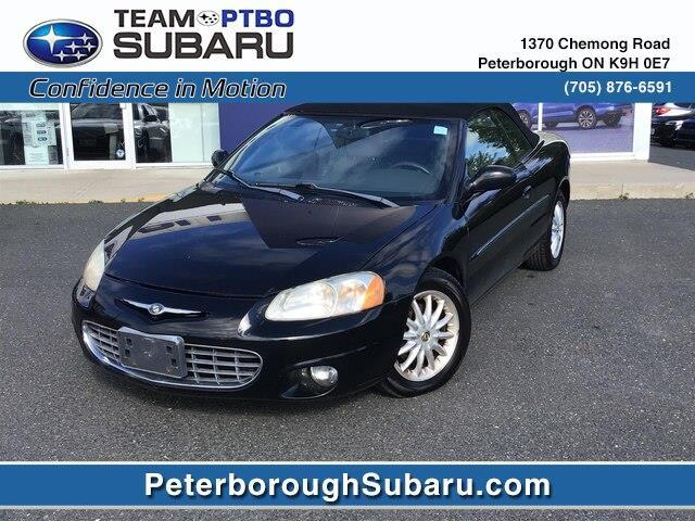 2001 Chrysler Sebring LXI (Stk: S3618A) in Peterborough - Image 1 of 16