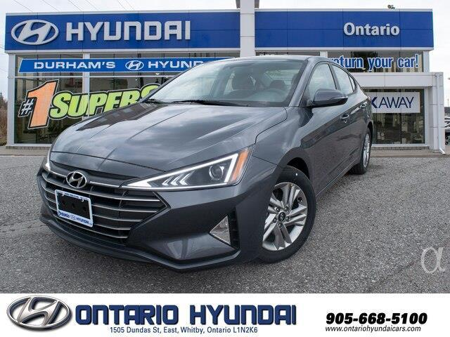 2020 Hyundai Elantra Preferred w/Sun & Safety Package (Stk: 947593) in Whitby - Image 1 of 20