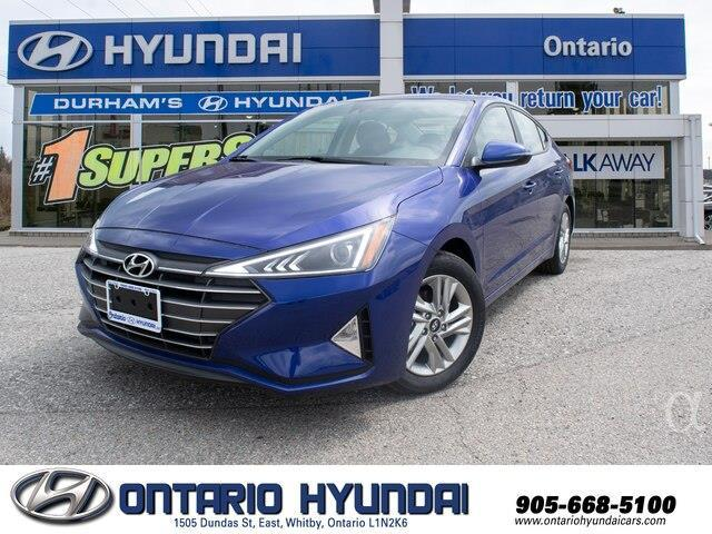 2020 Hyundai Elantra Preferred w/Sun & Safety Package (Stk: 960056) in Whitby - Image 1 of 20