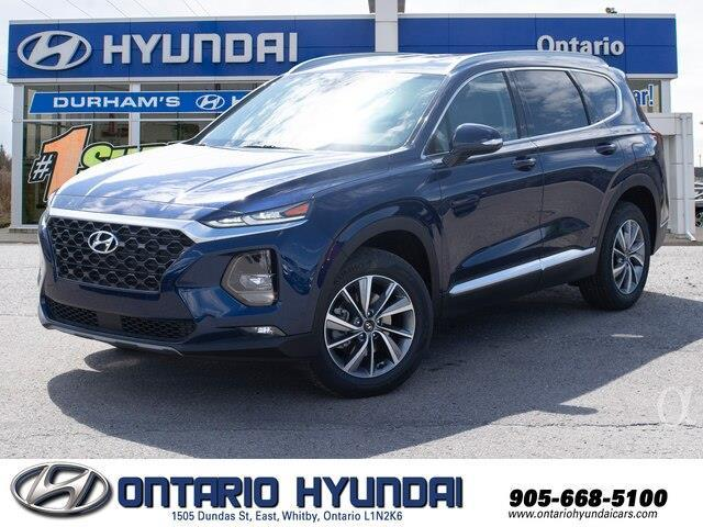 2020 Hyundai Santa Fe Preferred 2.4 w/Sun & Leather Package (Stk: 158002) in Whitby - Image 1 of 21
