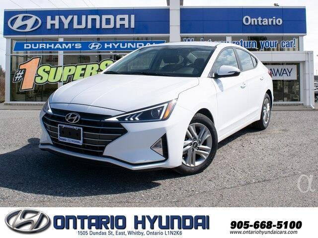2020 Hyundai Elantra Preferred w/Sun & Safety Package (Stk: 978431) in Whitby - Image 1 of 17