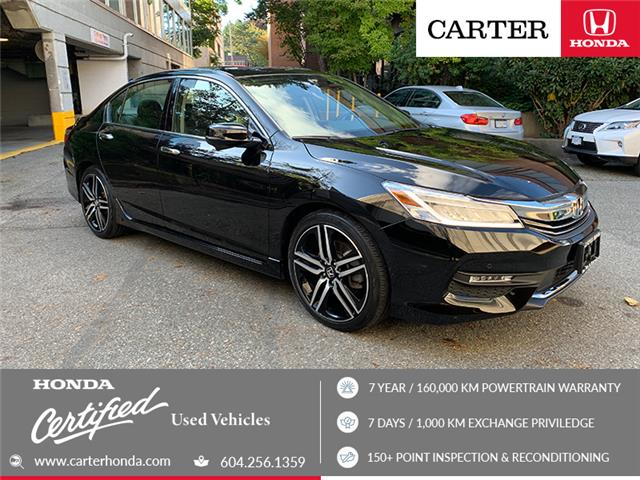 2017 Honda Accord Touring V6 (Stk: 9K05981) in Vancouver - Image 1 of 23