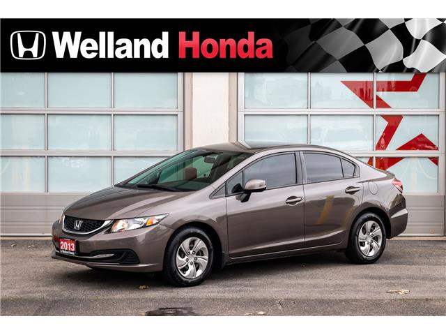2013 Honda Civic LX (Stk: U1916A) in Welland - Image 1 of 17