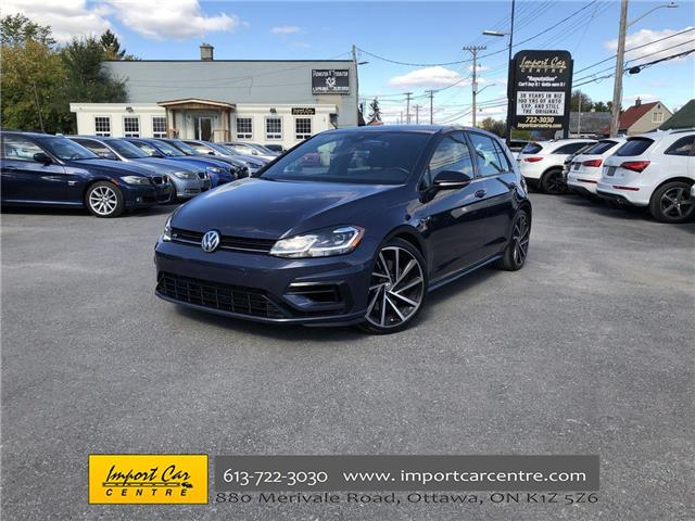 2018 Volkswagen Golf R 2.0 TSI (Stk: 089054) in Ottawa - Image 1 of 25