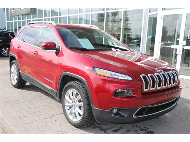2016 Jeep Cherokee Limited (Stk: 200056A) in Calgary - Image 1 of 7
