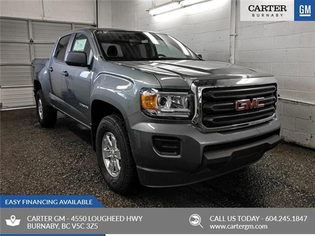 2019 GMC Canyon Base (Stk: 89-38790) in Burnaby - Image 1 of 11
