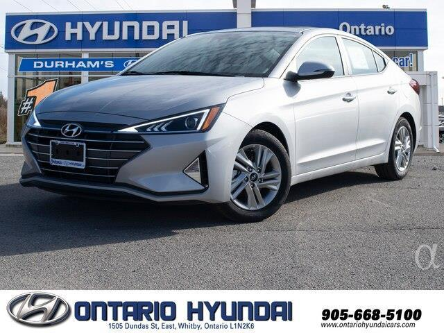 2020 Hyundai Elantra Preferred w/Sun & Safety Package (Stk: 966919) in Whitby - Image 1 of 18