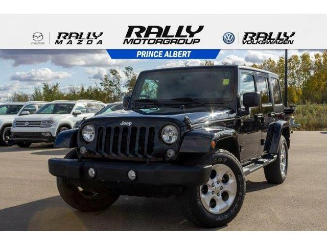 2015 Jeep Wrangler Unlimited Sahara (Stk: V680) in Prince Albert - Image 1 of 11