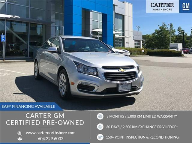 2015 Chevrolet Cruze 1LT (Stk: 9B11711) in North Vancouver - Image 1 of 27