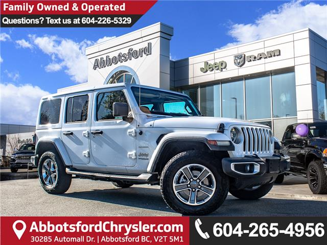 2018 Jeep Wrangler Unlimited Sahara (Stk: L108828A) in Abbotsford - Image 1 of 29