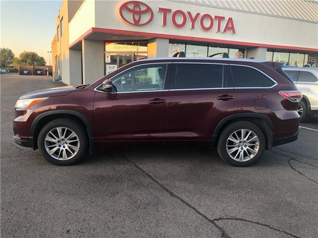 2015 Toyota Highlander  (Stk: P0055820) in Cambridge - Image 1 of 14